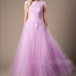 Dresses & Skirts - Lavender/aqua/pink/white prom or wedding dress